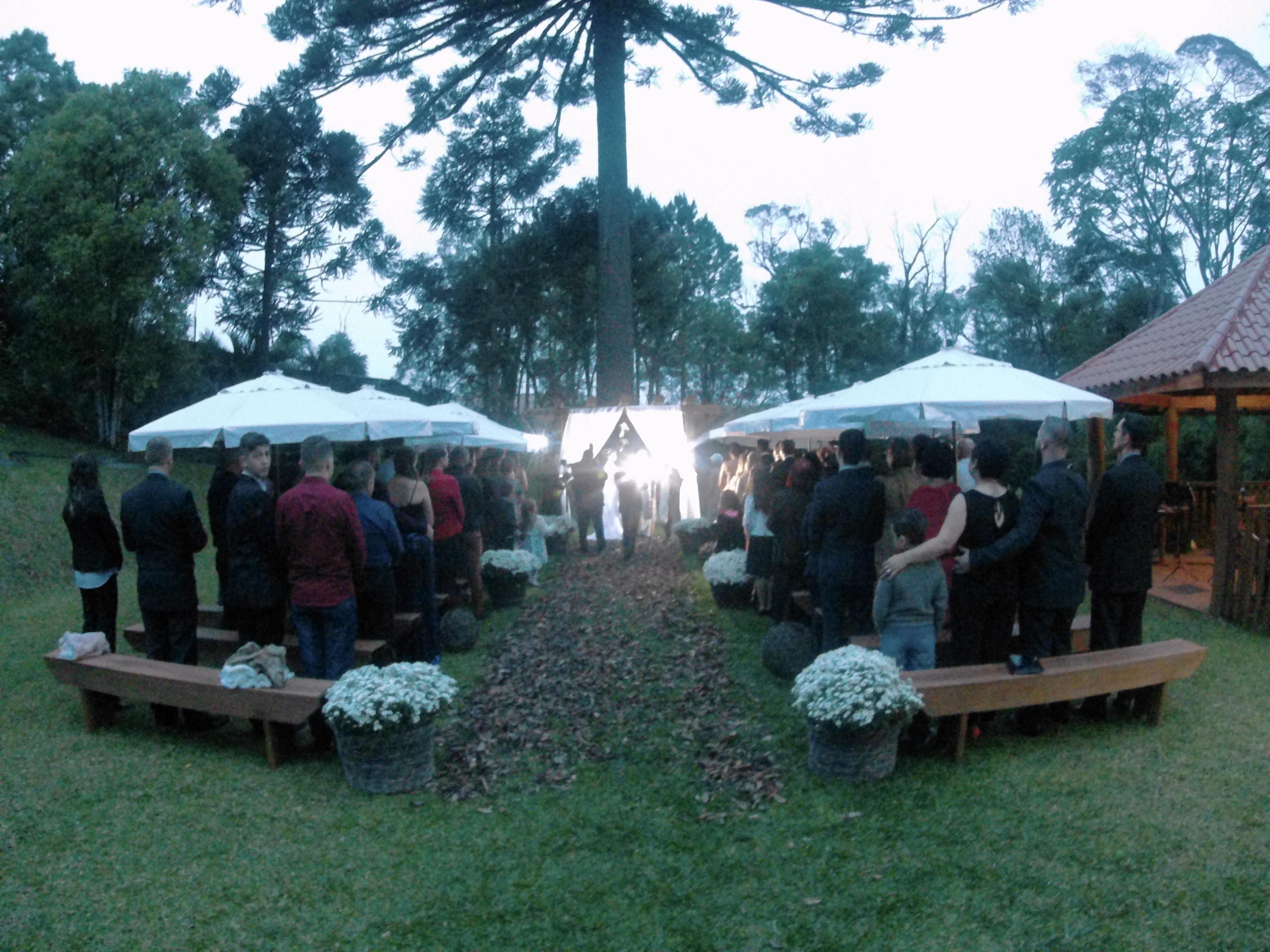 Casamento Taciana & Flávio – 20.10.2017 – Chac.Villa Dei Nonni Salão Bambini